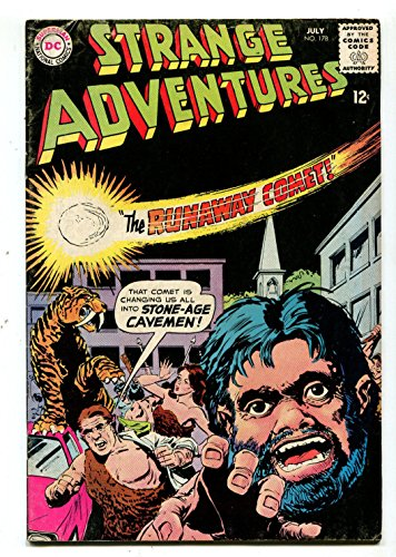Strange Adventures #178 VG/FN The Runaway Comet Stone-Age Caveman CBX1B -