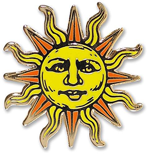 Sun - Hard Enamel Pin (Cloisonne Pin)