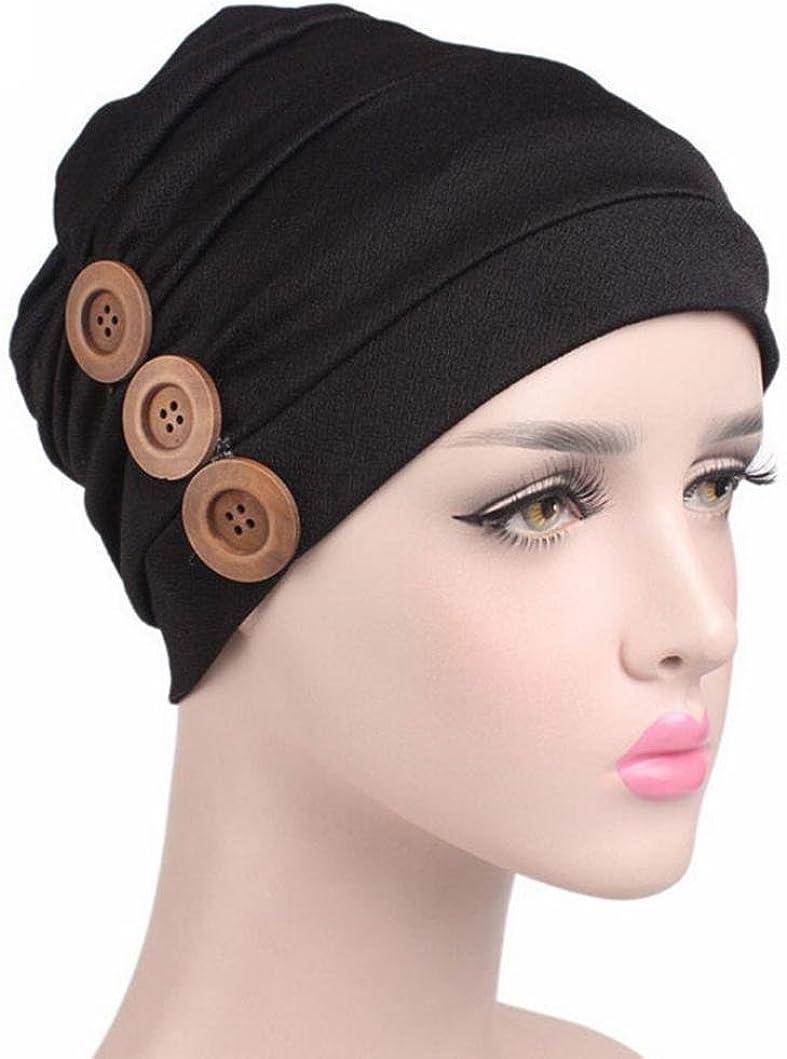 Ouneed Turban Chimio Noeud Femme Bonnet Musulmanes Coton Wrap Hijib Cap