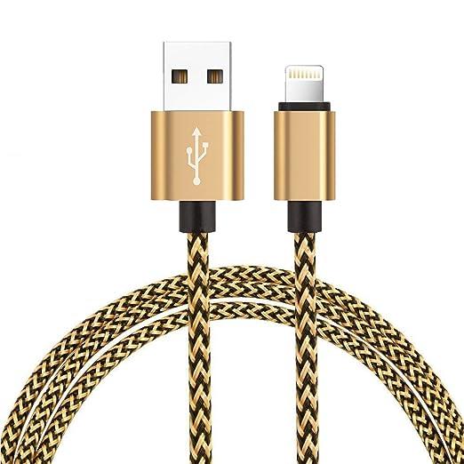 3 opinioni per Cavo Lightning su USB H quadratic- Garanzia a Vita- [1M,3.3ft] cavo per iPhone 7