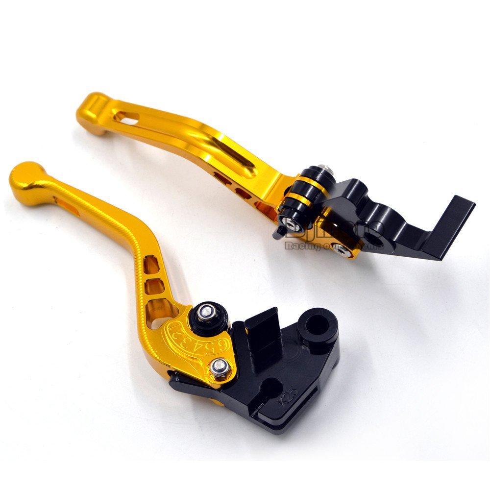 Haute qualit/é Moto CNC Frein r/églable dembrayage Levier Fit pour Buell 1125r 2008 2009/pour Buell 1125/CR 2009