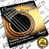 Adagio - corde serie Pro, per chitarra classica e flamenca, tensione normale, in nylon