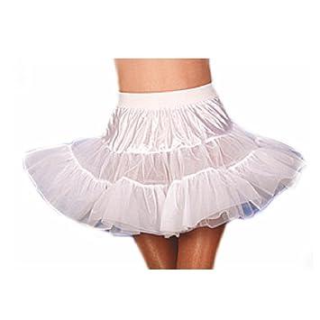 Enaguas enagua de tul blanco falda tutu de productores de lunares ...
