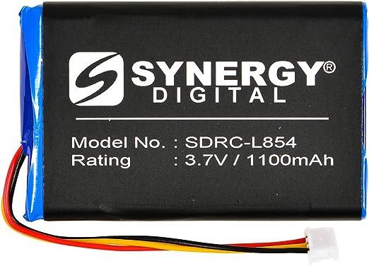 Pila reemplazo CELLONIC 2X Bater/ía Premium Compatible con Logitech Harmony 1000 Remote 1100 1100i 915 Squeezebox sustituci/ón 190582-0000,F12440056,K398,L-LU18 bateria de Repuesto 1300mAh