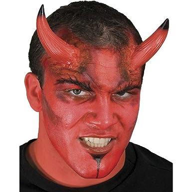 large devil horns prosthetic appliance - Devil Horns For Halloween
