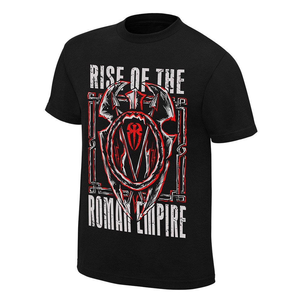WWE Roman Reigns Rise of The Roman Empire Youth T-Shirt Black Medium by WWE Authentic Wear