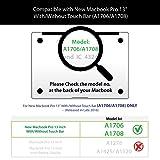 GMYLE MacBook Pro 13 Inch Case 2018 2017 2016 A1989