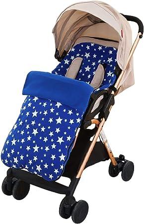 Sonarin Saco Silla De Paseo Universal Protección Antideslizante Cosy Toes Forro Polar Térmico Deluxe Azul Amazon Es Bebé