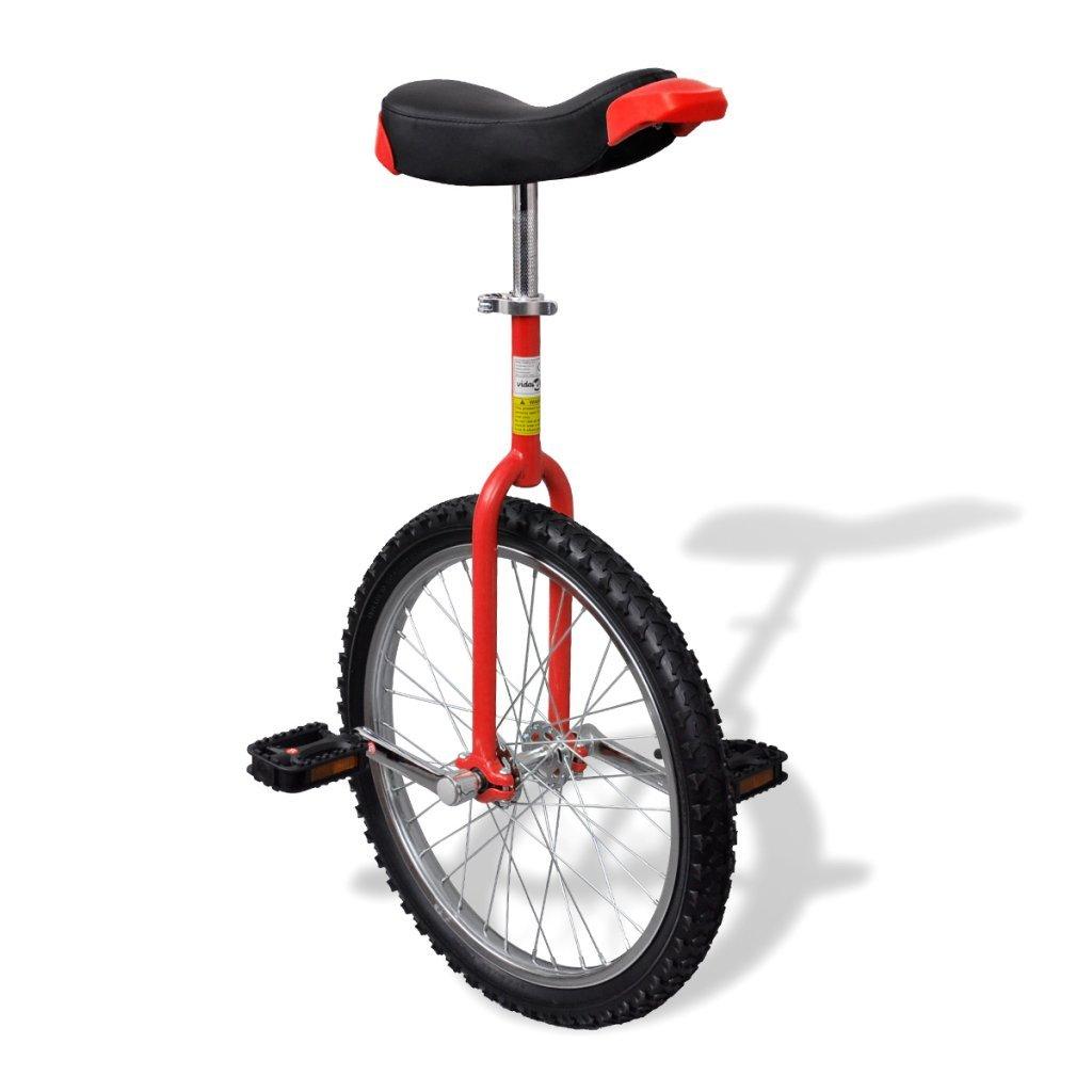 Anself Einrad 16 Zoll 40,7 cm Rot