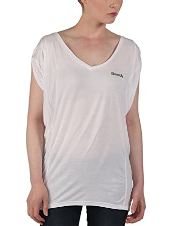 Amelia Hutchins AMPLIZE Camiseta Manga Corta, Mujer, Bright White, 36