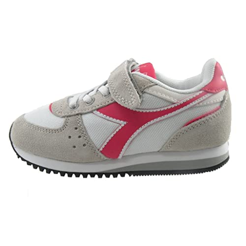 Bambina Diadora Malone Elastico Sportive 30 Taglia Jr Scarpe Velcro YHnAqBgH