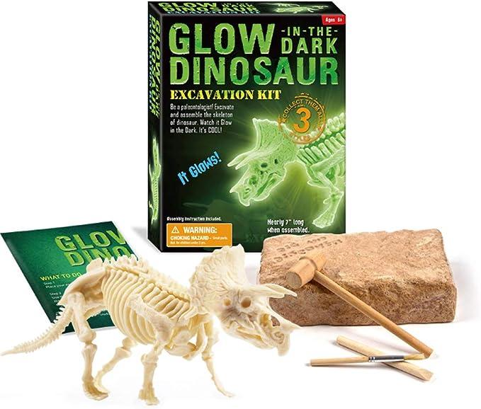 Dinosauri FLUORESCENTI Uovo fossile in grandi
