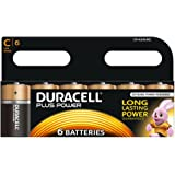 Duracell MN1400B6 Plus Power - Pilas tipo C (pack de 6)