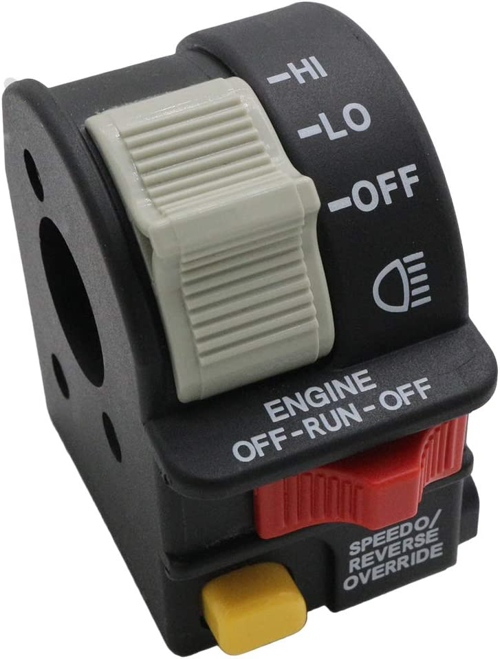 Handlebar Hi Lo Beam Light Kill Stop Switch For Polaris Magnum 325 330 RMK 500