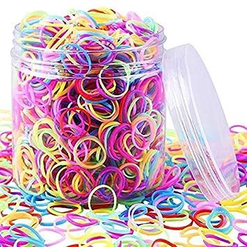 Amazon Com Eaone 2000 Pieces Multi Color Rubber Bands Small