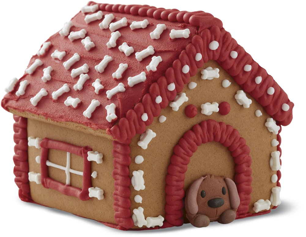 Wilton Build It Yourself Gingerbread Doghouse Decorating Kit