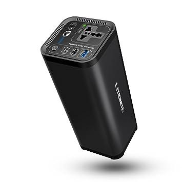 Litionite Hurakan 120W / 41600mAh Generador portátil de energía eléctrica: Amazon.es: Electrónica