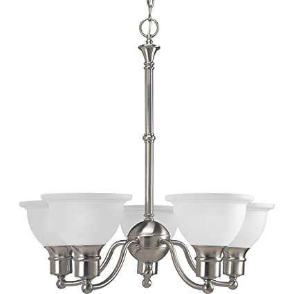 Amazon.com: Madison – Lámpara de techo en níquel cepillado ...