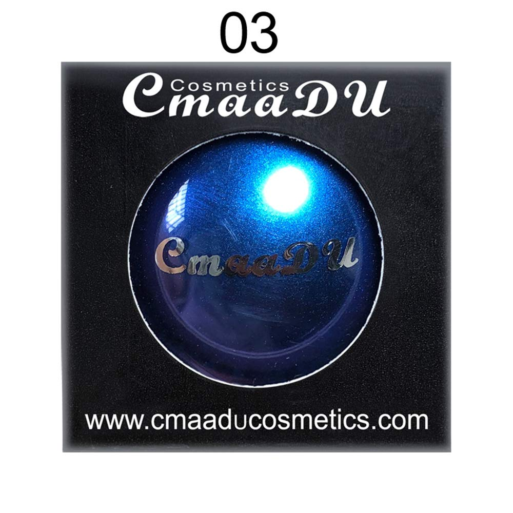Cmaadu Polarized Glitter Eyeshadow Metallic Shimmer Change Color Eye Shadow Chameleon Eyeshadow Singe Color Eyes Makeup Powder (3)
