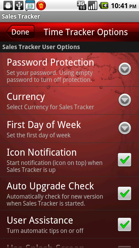 amazon com sales tracker appstore for android