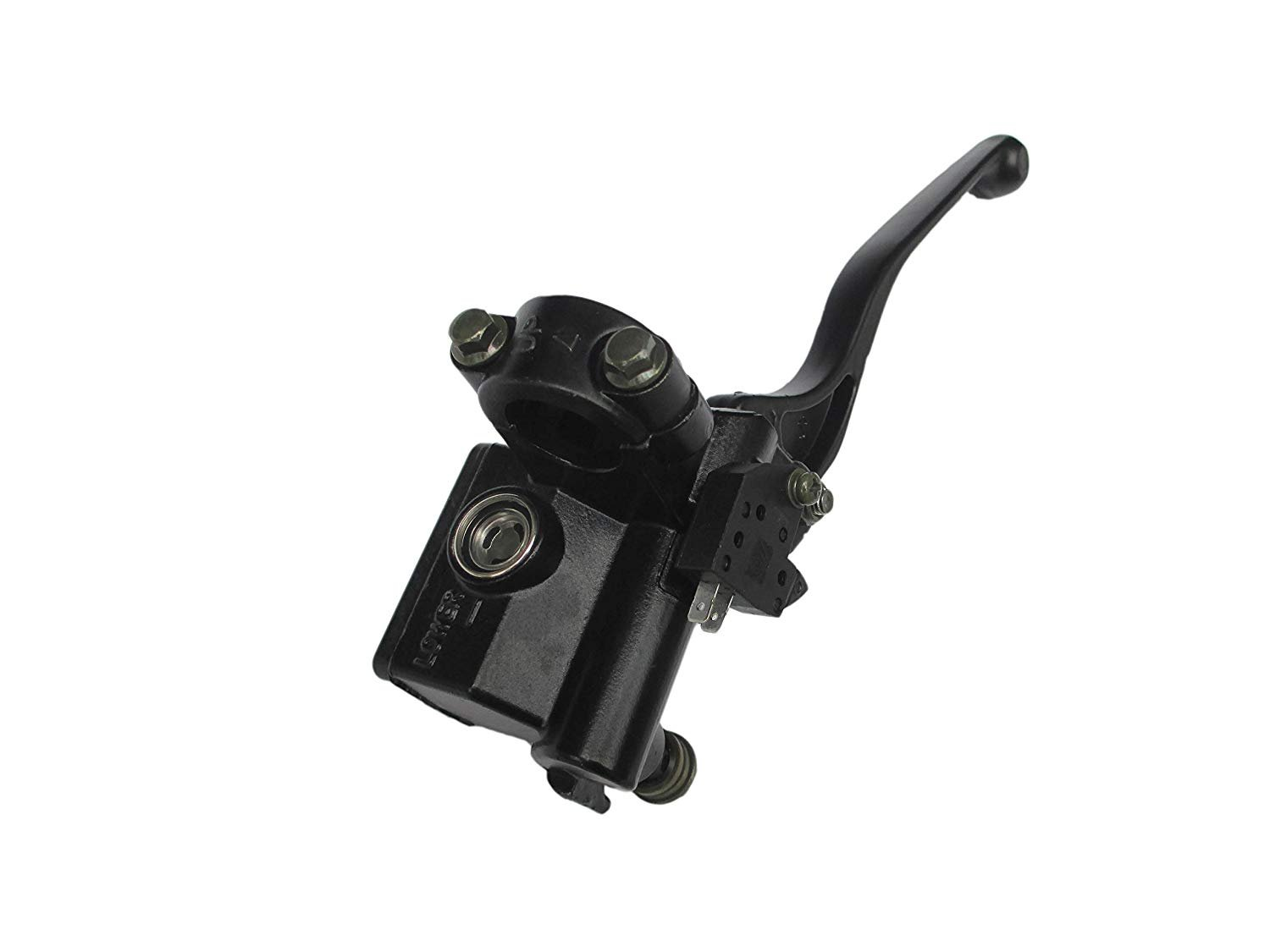 Black Housing FLYPIG For Kawasaki ATV Bayou Lakota Brute Force Prairie KFX KLT KVF Front Brake Master Cylinder