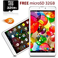Indigi® NEW! 7 Android 4.4 Tablet PC w/ Wireless 3G Phone Function & Google Play Store