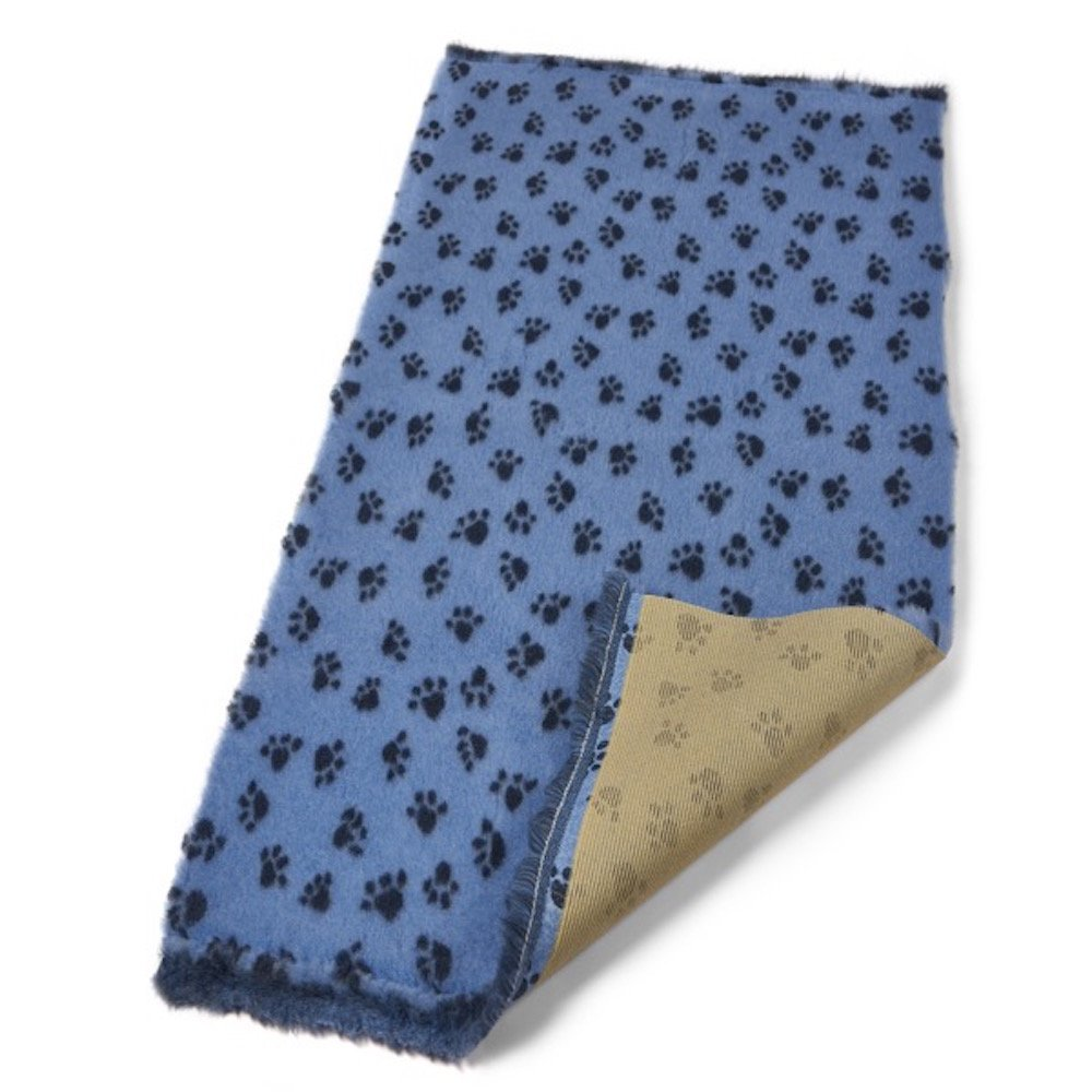 Active Non-Slip Premium Veterinary Bed Sky bluee Paws 10Mx150cm by Bronte Glen Ltd