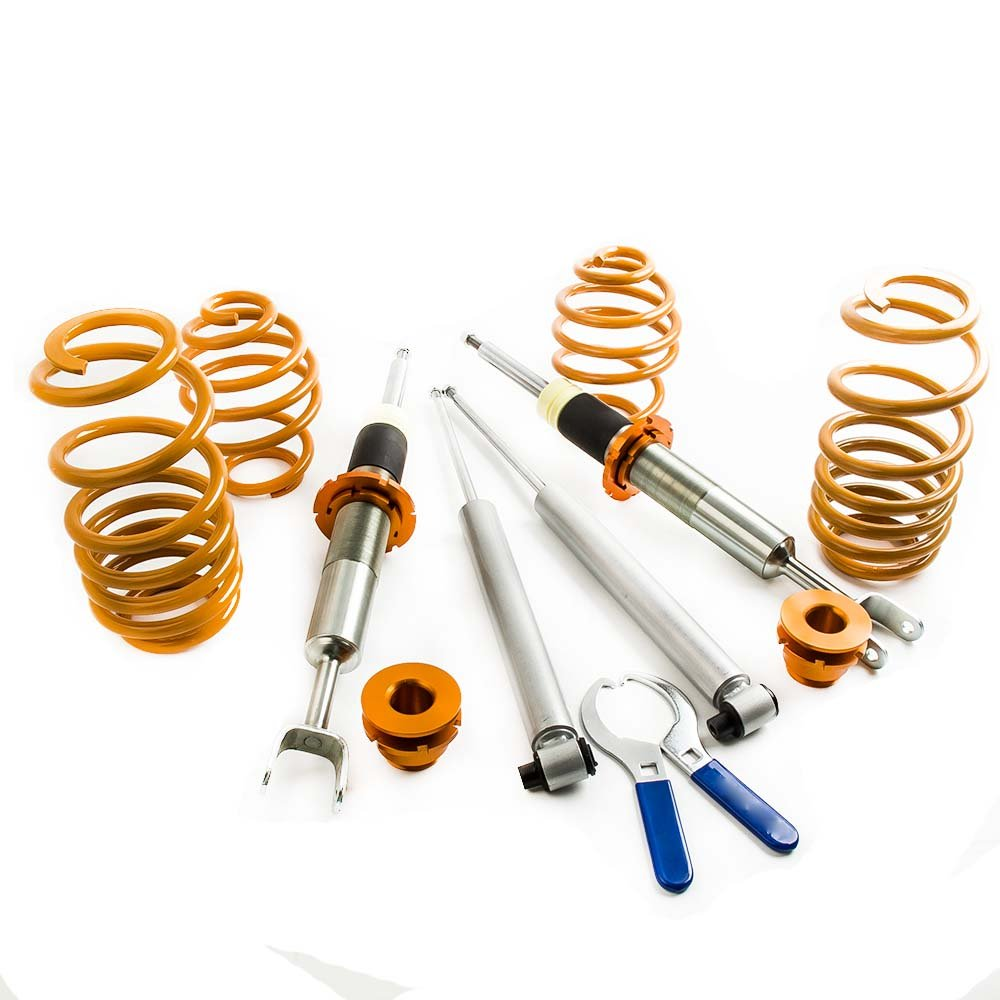 maXpeedingrods Lowering Suspension Coilover for Superb 2001 2002 2003 2004 2005 2006 2007 2008 FWD Only