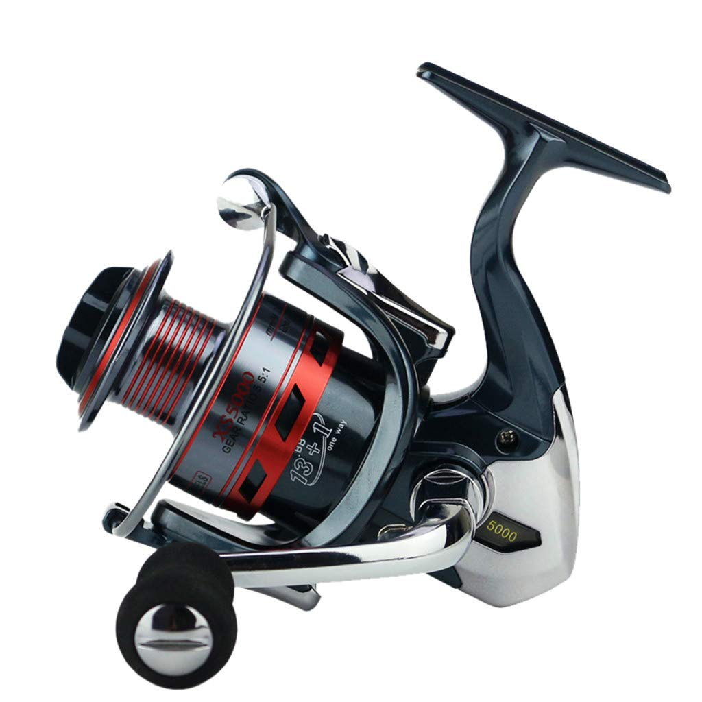 SMyFone Full Metal Spinning Reel 14axis Fishing Reels Fishing Gear Spincast Reel New for YUMOSHI