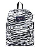 JanSport Superbreak Backpack (One Size, White Urban Optical)