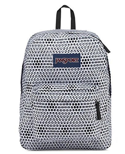 JanSport Superbreak Backpack (One Size, White Urban Optical) by JanSport