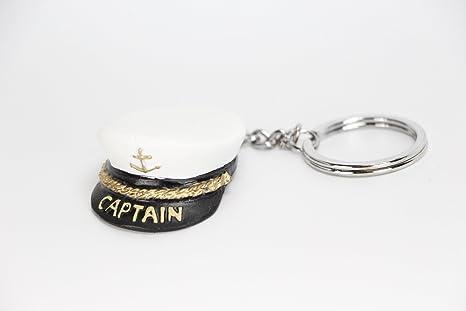 Gorra Capitán Llavero Marinero Llaves Barco: Amazon.es: Hogar