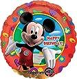 Ballon Happy Birthday Mickey Non Gonflé