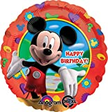 Anagram International Mickey's Clubhouse Birthday Foil Balloon Pack, Multicolor