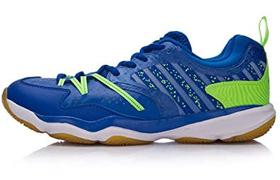 LI-NING Men Ranger Daily Lightweight Badminton Training Shoes Lining Team  Flexible Sports Sneakers Blue 350f59394