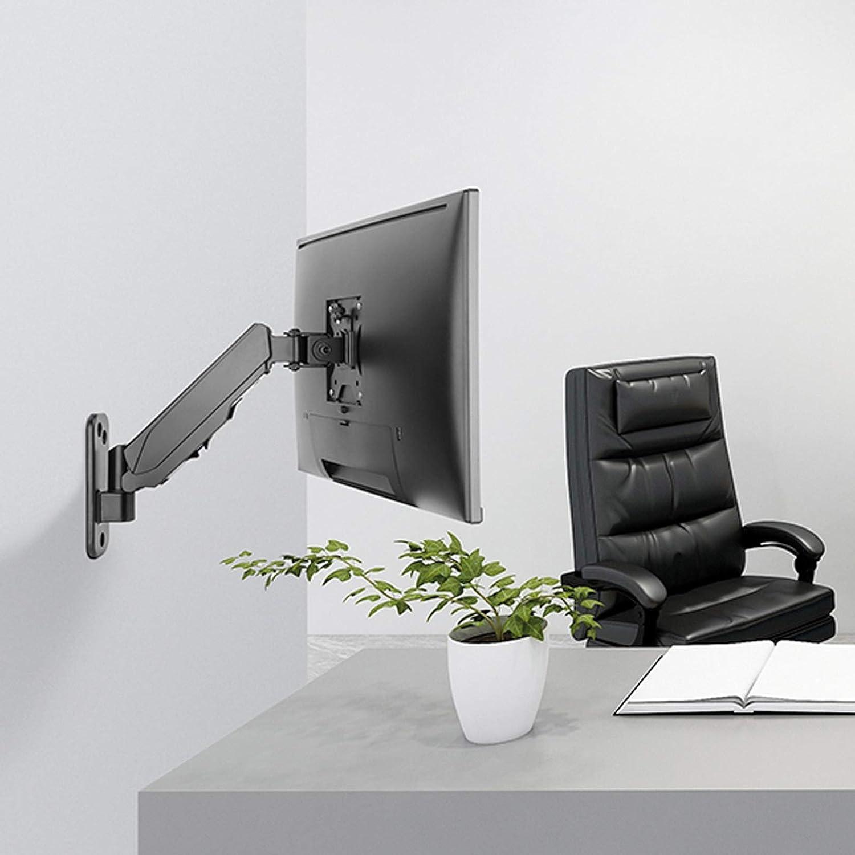 Altura Regulable, Montaje en Pared, 4 articulaciones Brazo para Monitor LCD Color Negro Value