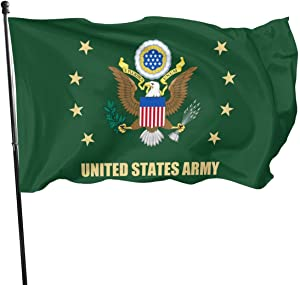 U.S. Army Veteran Flag 3x5 FT Outdoor Banner Garden House Home Decor Flag Fade Resistant