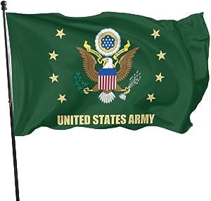 U.S. Army Veteran Flag 3x5 FT Outdoor Banner Garden House Home Decor Flag Fade Resistant