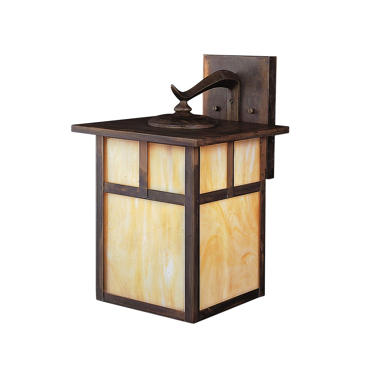Kichler 9651CV One Light Outdoor Wall Mount - Wall Porch Lights ...