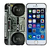 Harryshell Apple iPhone 6 Case, Tape Cassette Pattern Soft TPU Cover Case for Apple iPhone 6 4.7 inch Free for Screen Protector and Stylus Pen (5E)