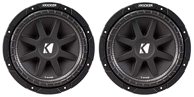 Kicker 43C124 1000W 12-Inch Subwoofers with Sealed Box Enclosure with on kicker framing, kicker shocks, kicker audio setup,