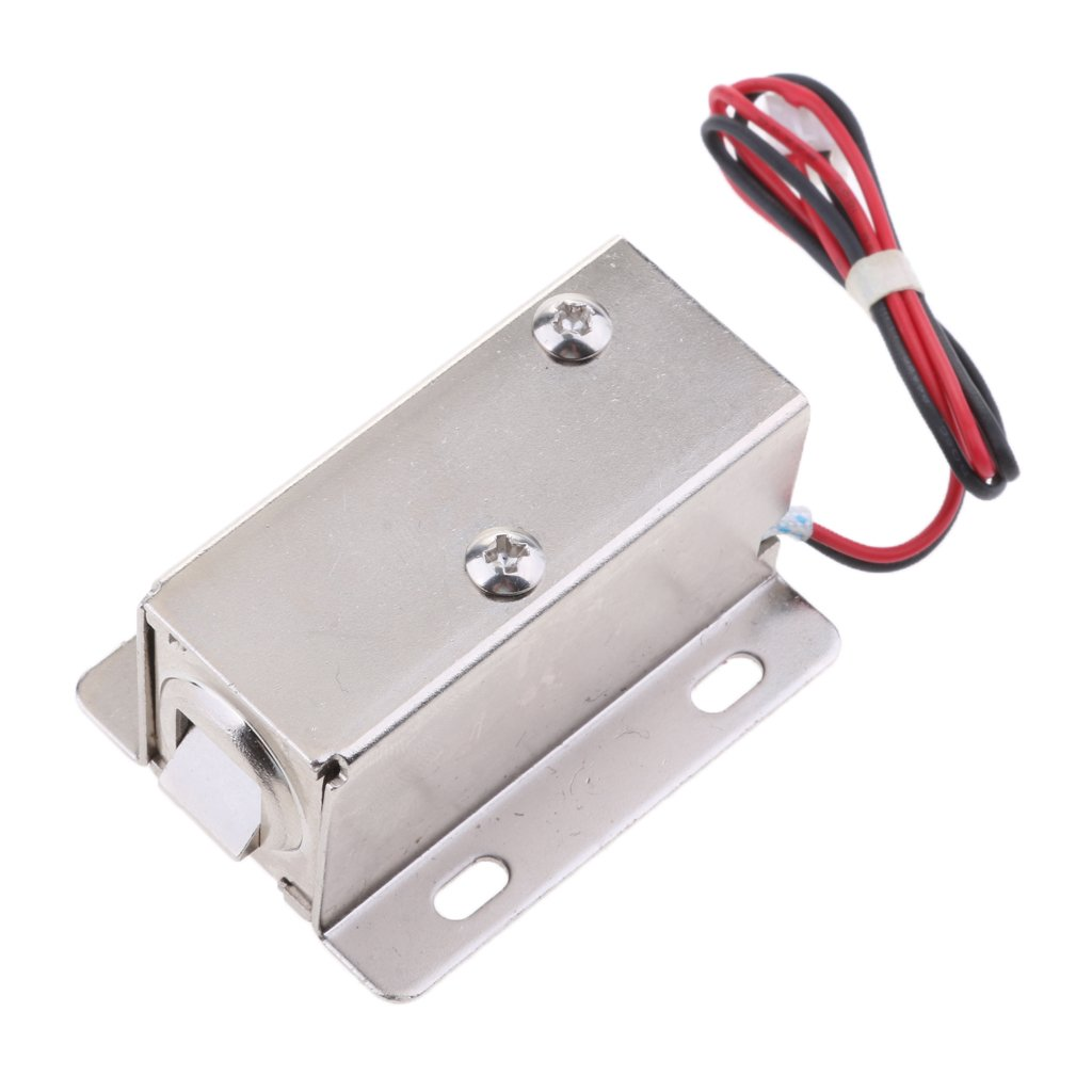 MagiDeal Universal 12V 0.4A Mini Electric Magnetic Electromagnetic Lock Door Gate Access Entry Control by Unknown (Image #4)