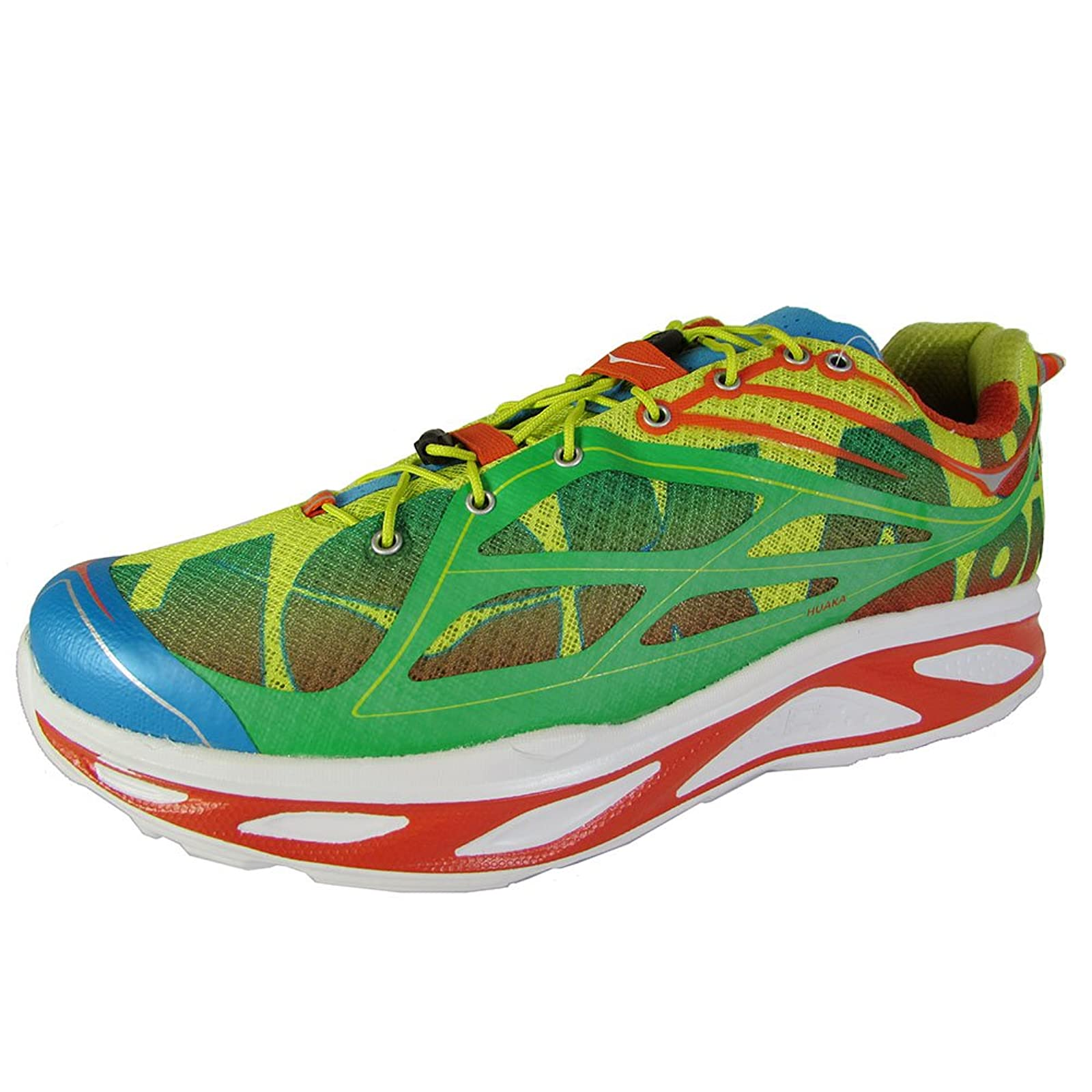 HOKA ONE ONE Mens Huaka Running Sneaker Shoe 8 M US - 2