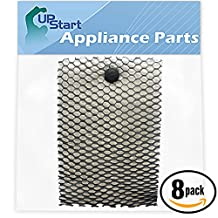 8-Pack Replacement Bionaire BCM740B Humidifier Filter - Compatible Bionaire BWF100, HWF100 Humidifier Filter