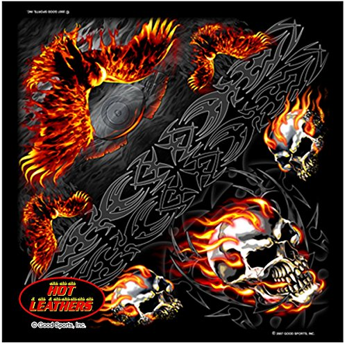 ing Eagle Biker Bandana measures 21