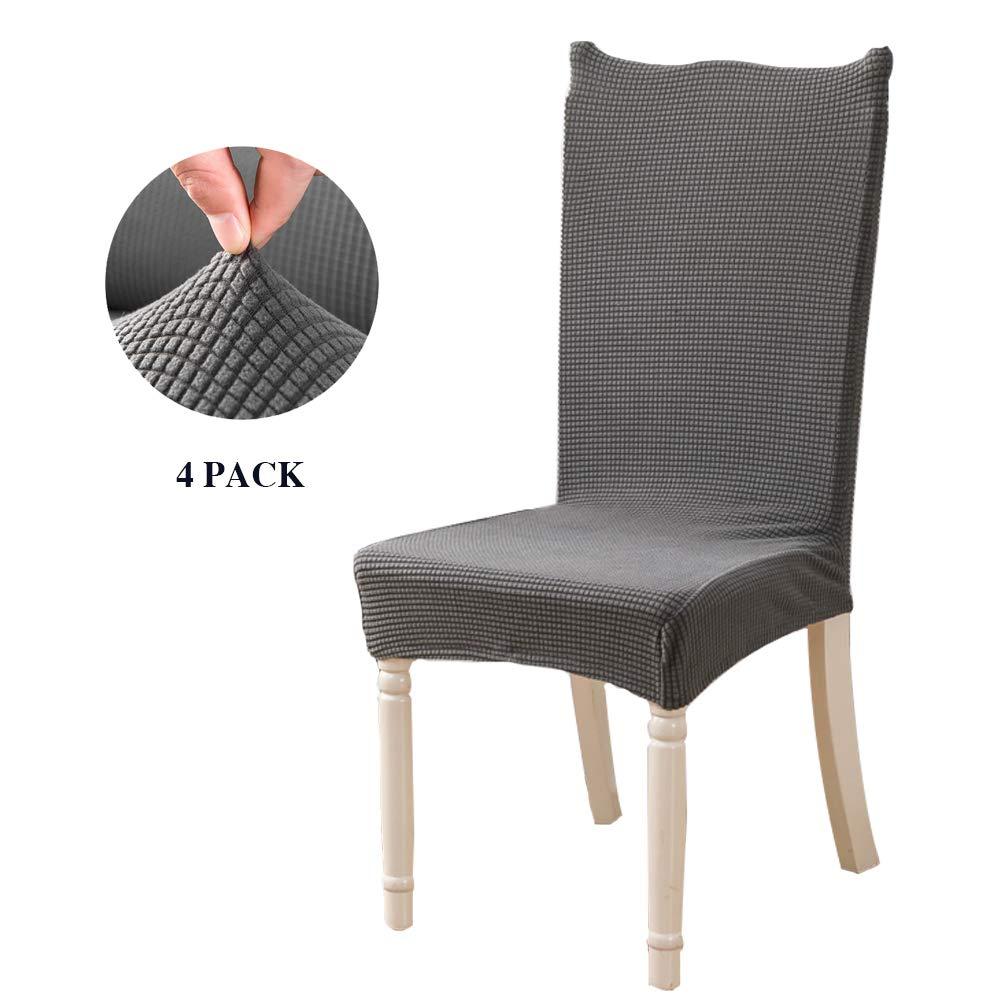 Feilaxleer Fundas para sillas Comedor elásticas, Cubiertas de Silla ...