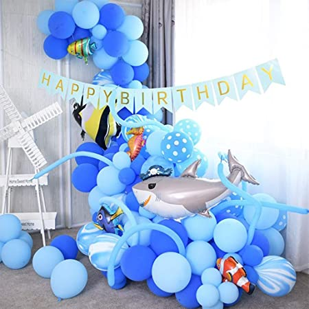WWWWW Ocean Theme Birthday Party Combination Protection Set ...