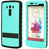 LG G3 Waterproof Case, oneCase IP-68 Waterproof Armor Shockproof Dirt Proof Snow Proof Heavy Duty Full Body Skin Case Protective Cover with Hand Strap & Headphone Adapter for LG G3 (Blue)