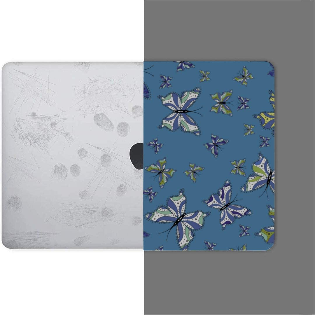 Touch ID MacBook Pro Case Suitable Paper Fabric Packaging Simple MacBook Air 13 A1932 Plastic Case Keyboard Cover /& Screen Protector /& Keyboard Clea