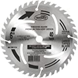Timberline 150-400 Contractor 6-Inch Diameter by 40-Teeth by 1/2-Inch Bore, ATB Grind Thin Kerf Carbide Tipped Saw Blade